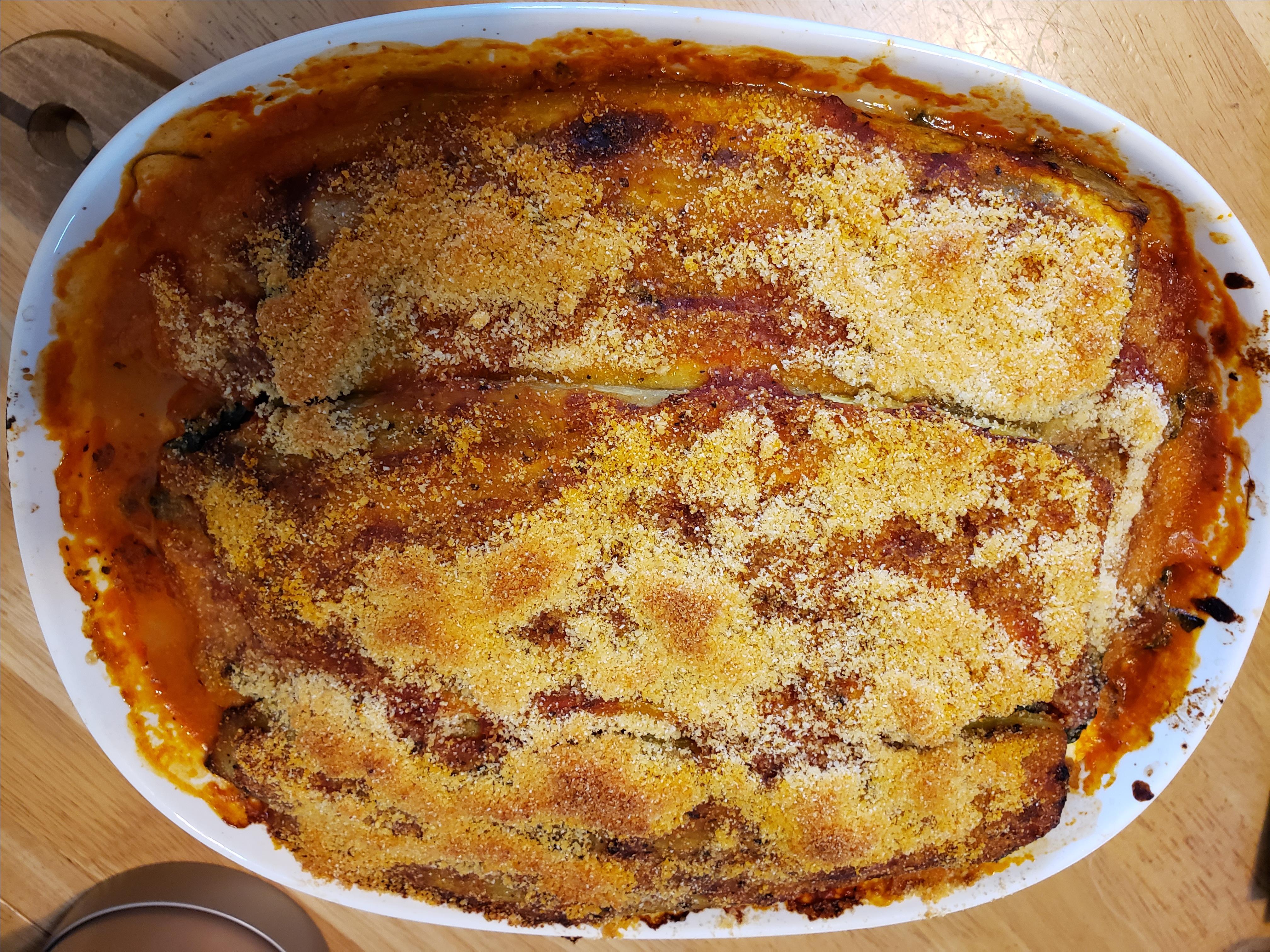 Jorge's Pasta-less Eggplant Lasagna Jody Ellen Sherman