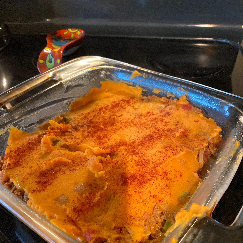 Autumn Sweet Potato Shepherd's Pie Mary