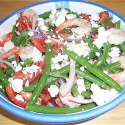 Garlic Lover's Shrimp and Green Bean Salad SLJ6