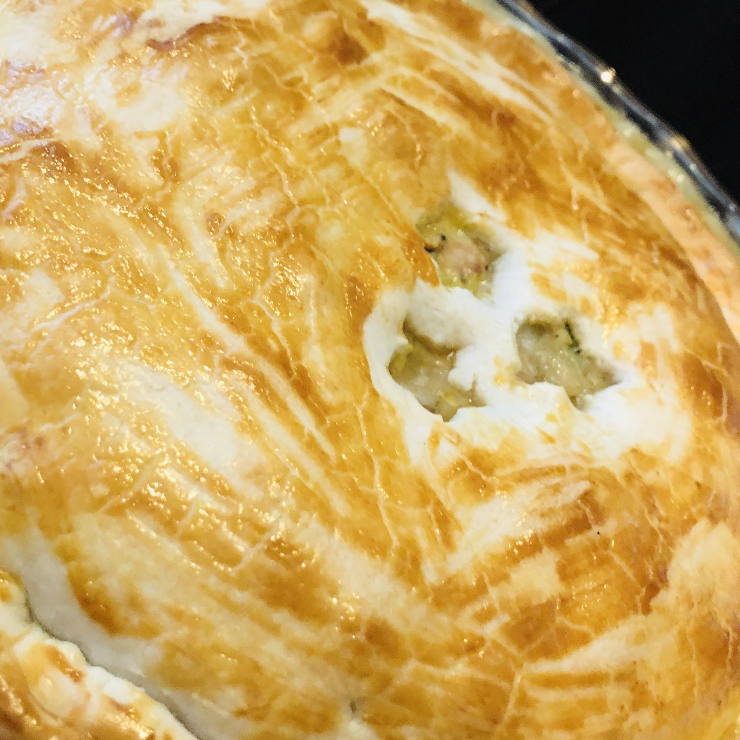 Rotisserie Chicken Pot Pie Elizabeth