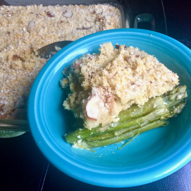 Gluten-Free, Dairy-Free Asparagus Casserole