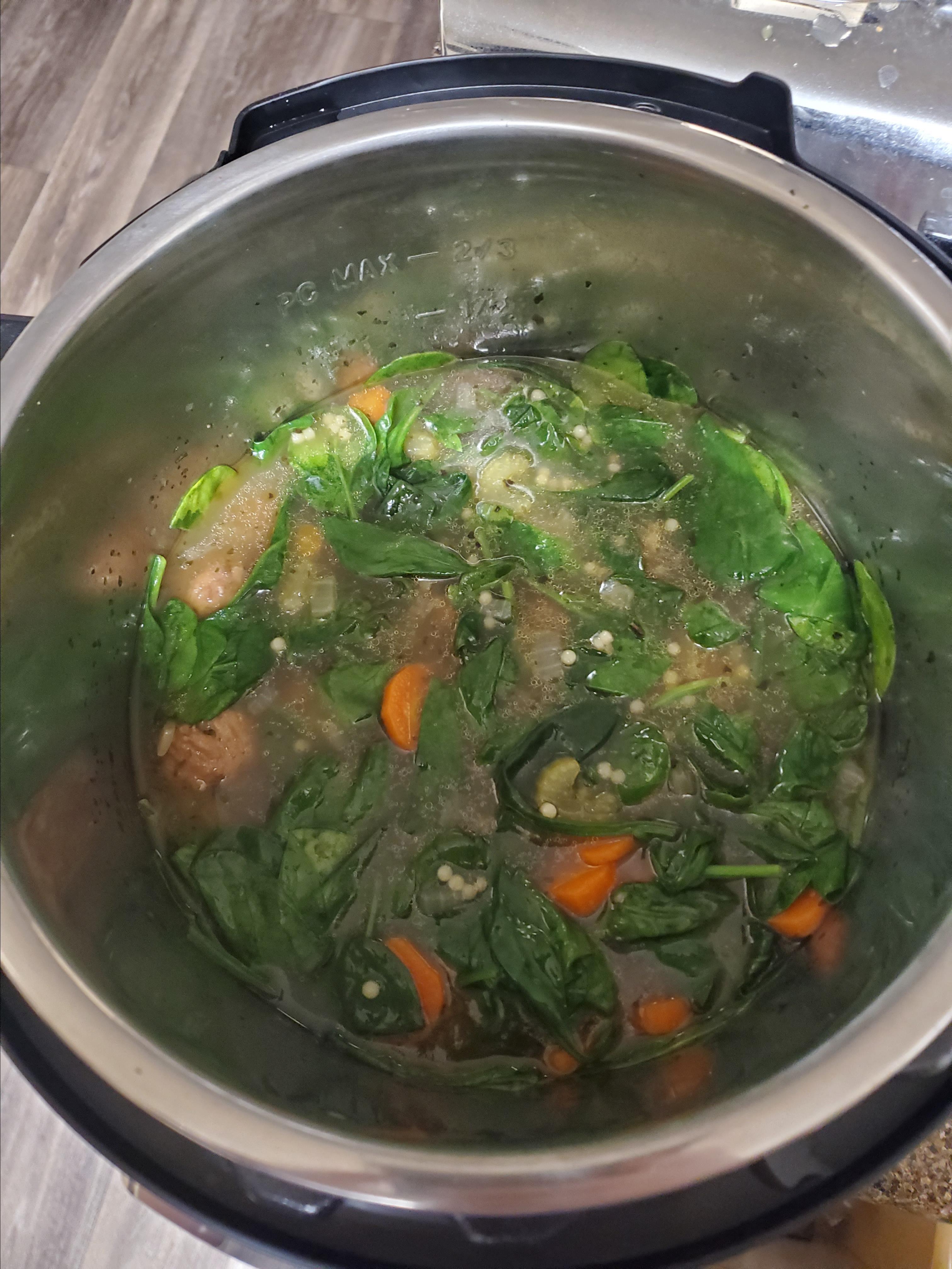 Instant Pot® Italian Wedding Soup