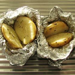 Foil Potatoes Linda