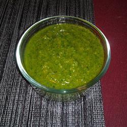 Simple Garlic and Basil Pesto may2mac