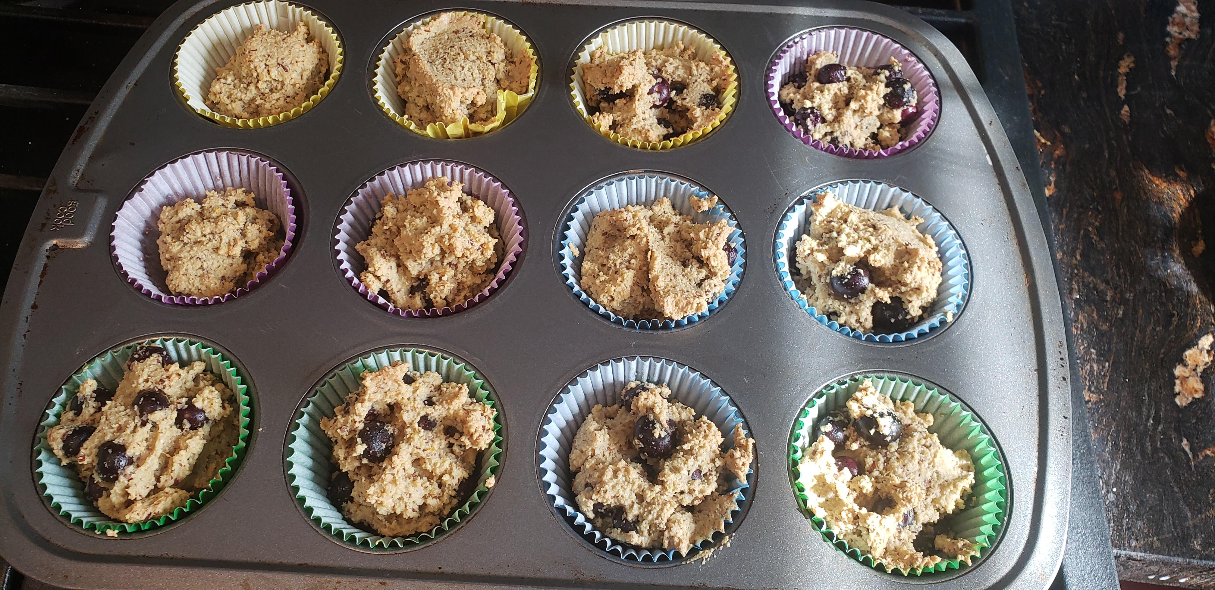 Almond Flour Blueberry Muffins (Gluten Free) Taryn Mosley
