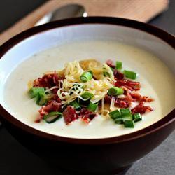 Potato Soup with Sour Cream