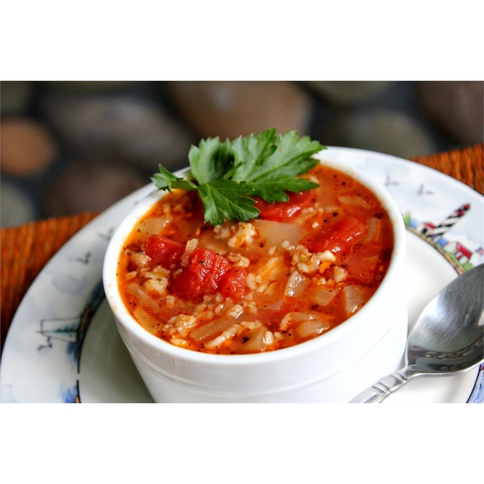 Oatmeal and Tomato Soup
