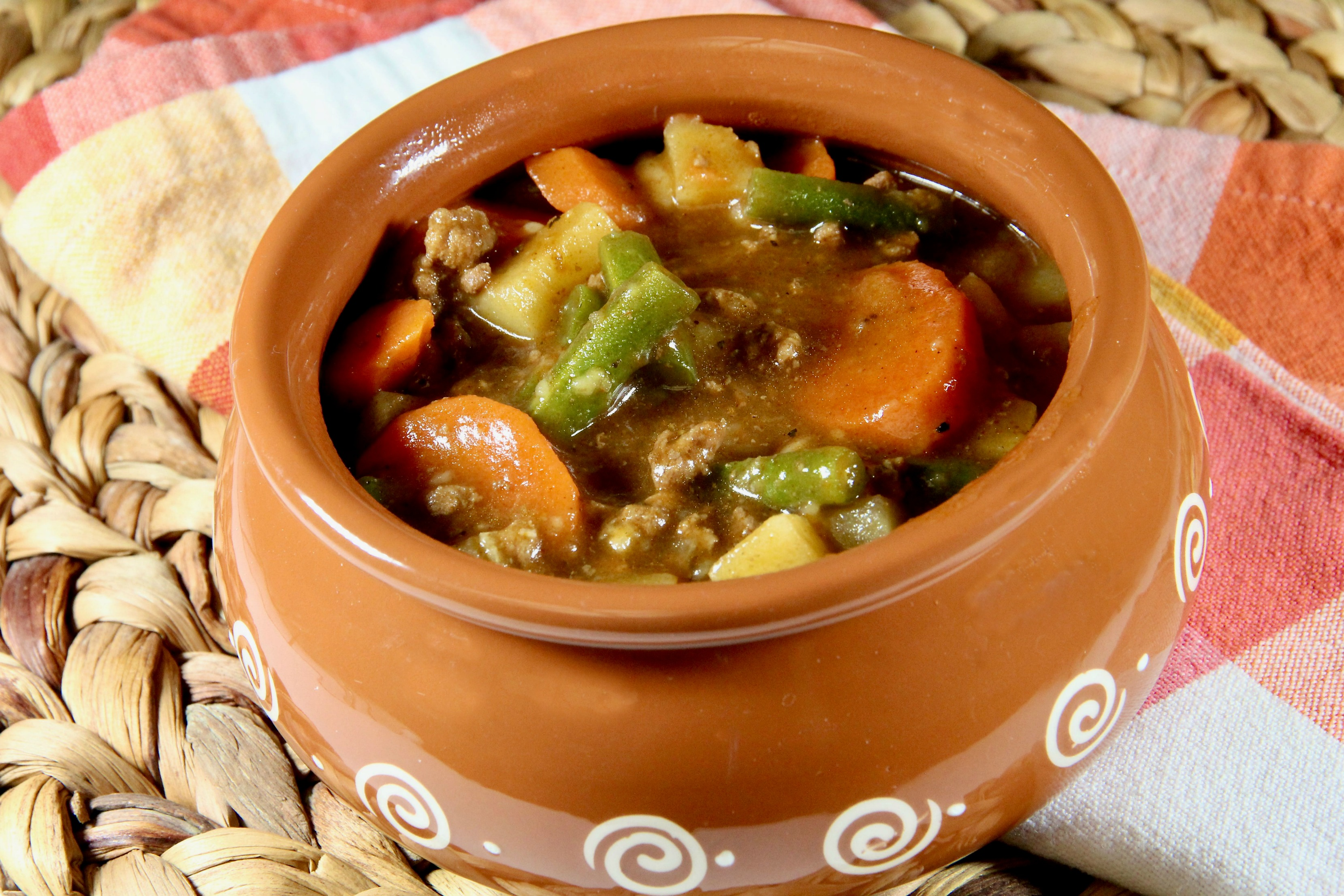 Ground Beef and Vegetable Stew