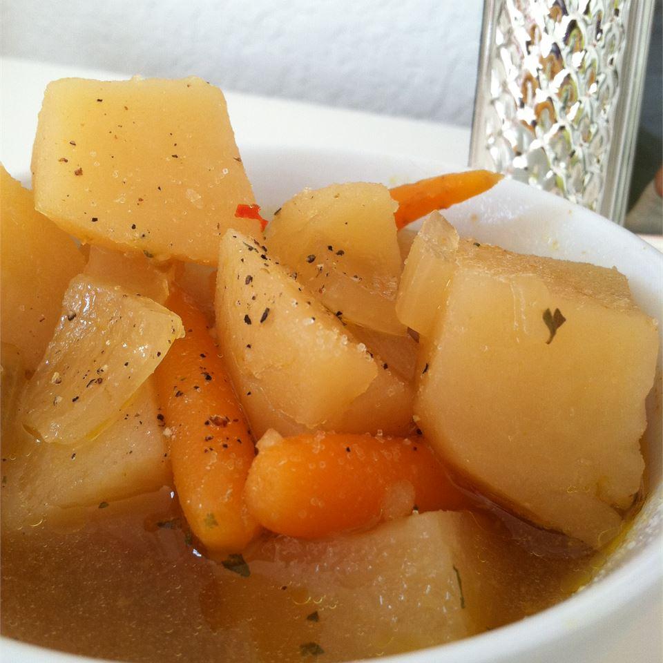 Lorene's Slow Cooker Potato Soup House of Aqua