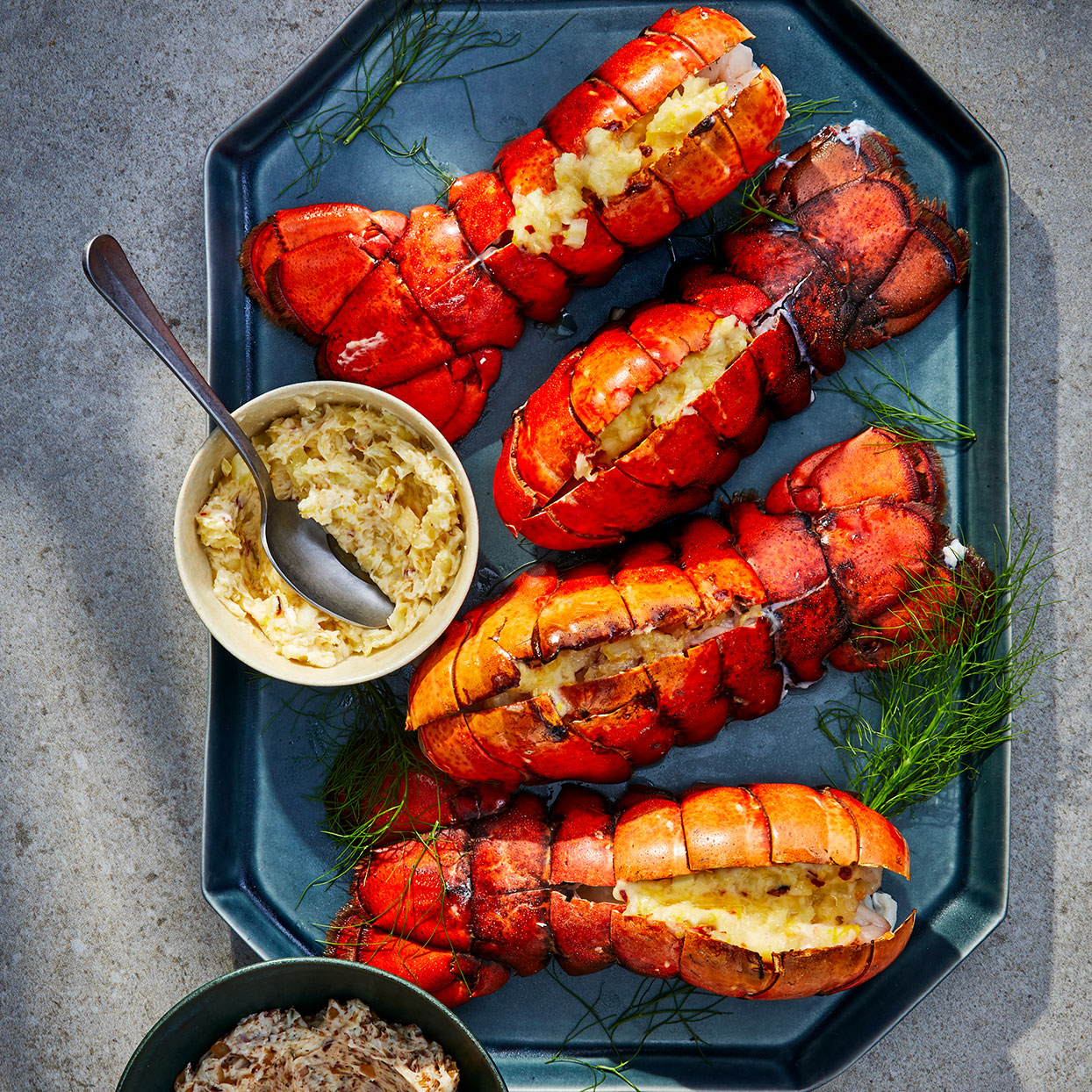 Broiled Lobster Tails Liz Mervosh
