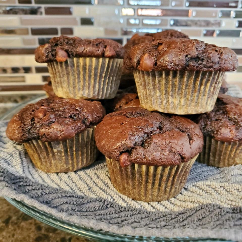 Moist Chocolate Muffins