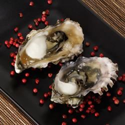 Grilled Oyster Shooters Cristen Senter