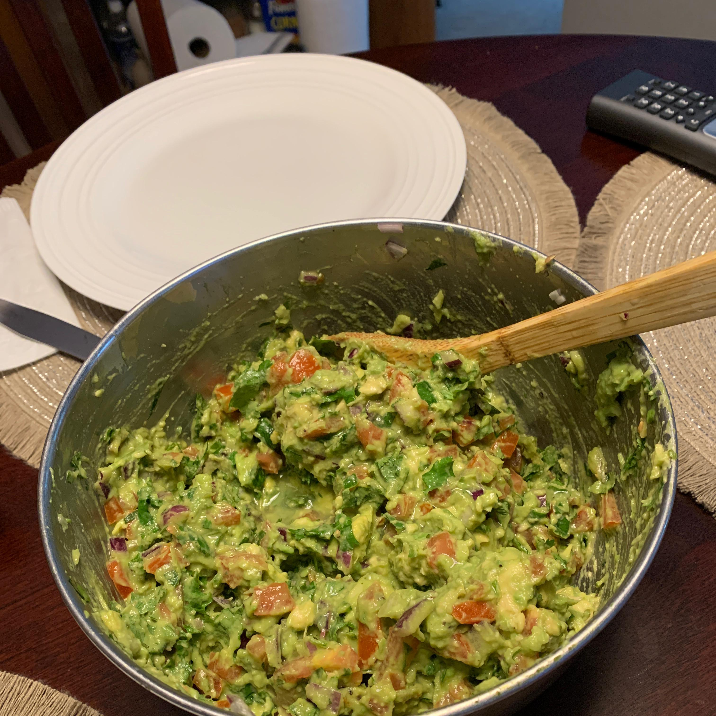 Fresh Guacamole Judy L