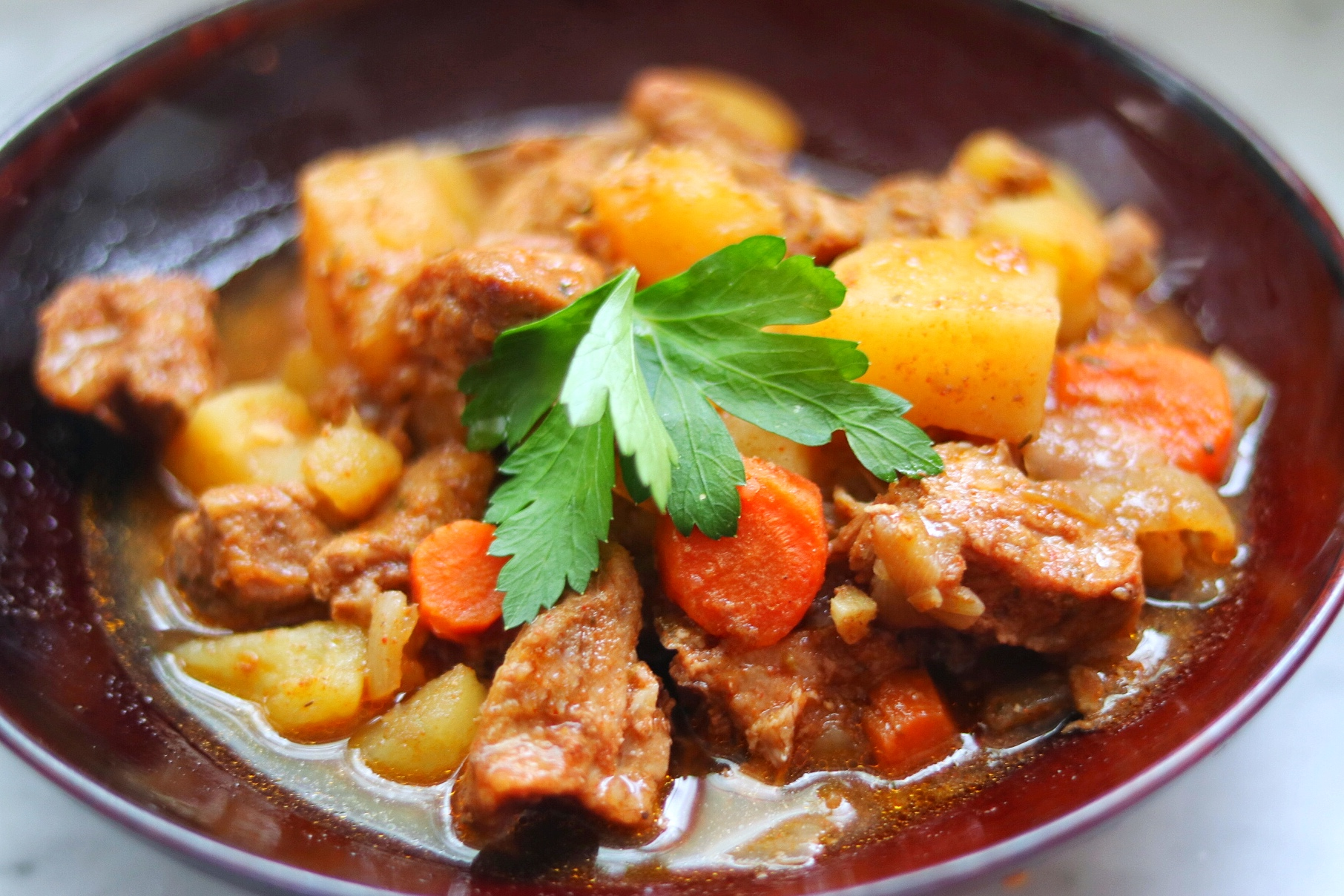 Paprika Pork Stew