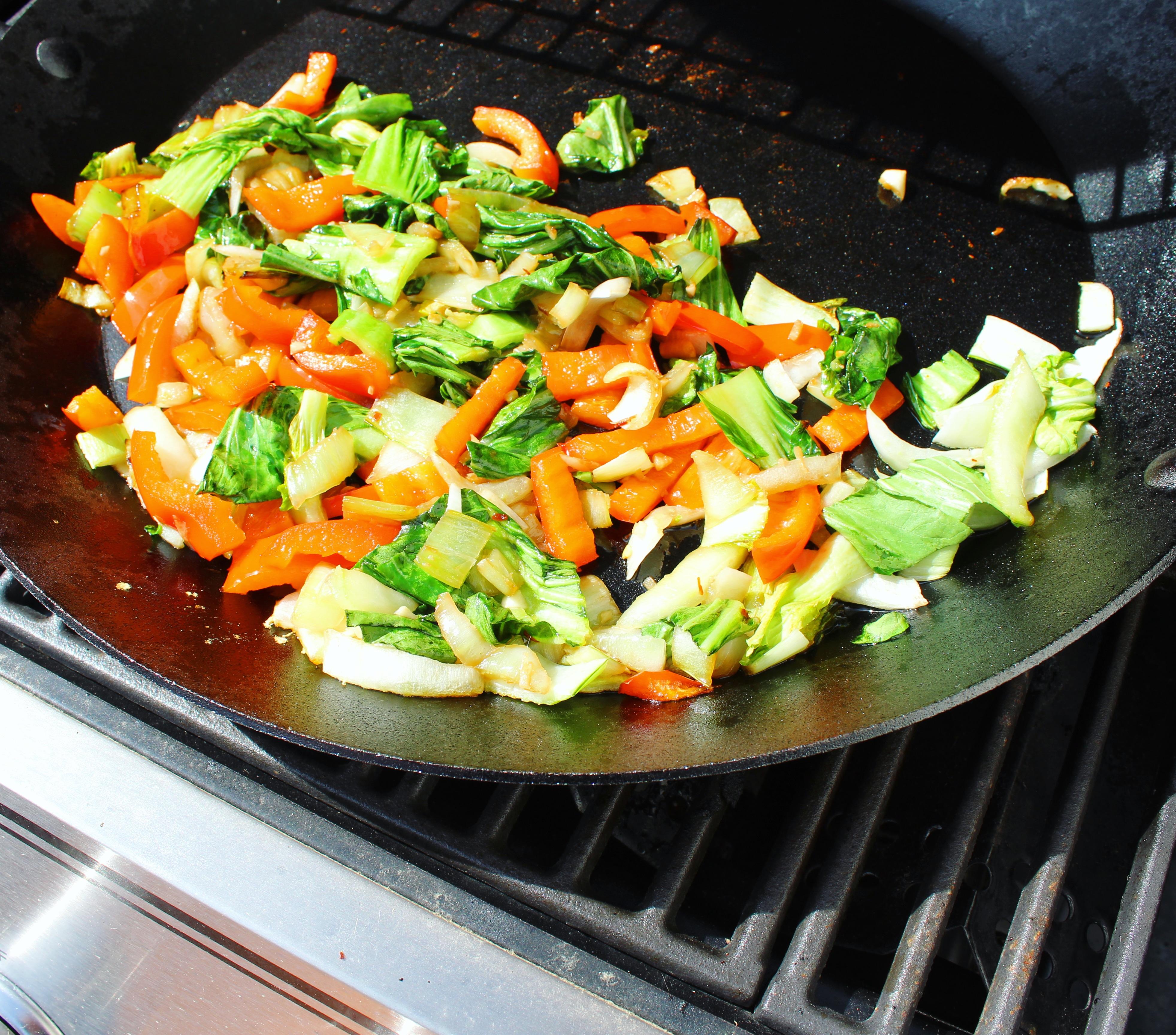 Chef John's Garlic and Ginger Bok Choy Chef Mo