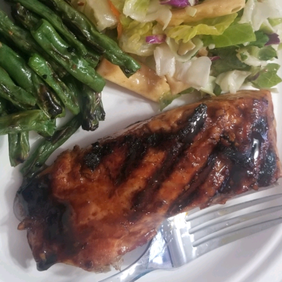 Molasses-Glazed Salmon Kate Leonard