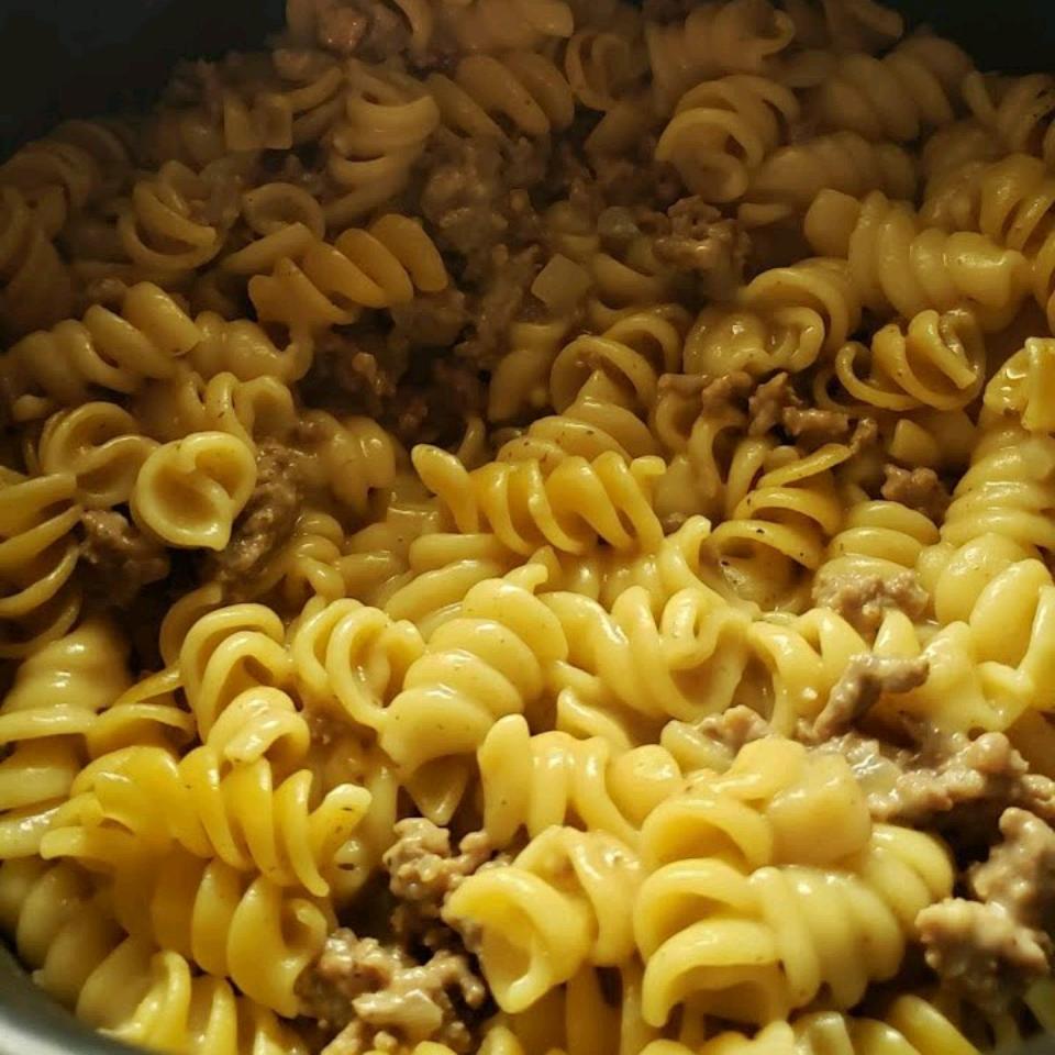 Gluten-Free Instant Pot® Beef Stroganoff Amanda Olson (Mrs.TitusR)