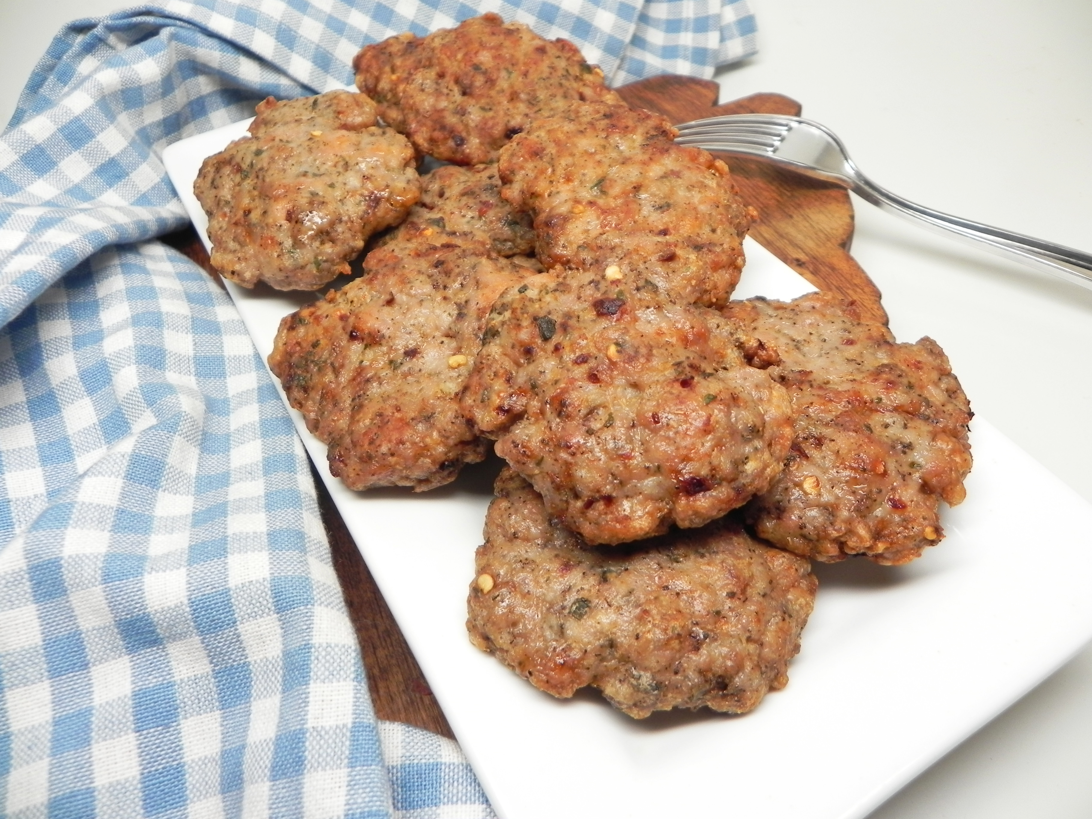 Spicy Homemade Breakfast Sausage in the Air Fryer