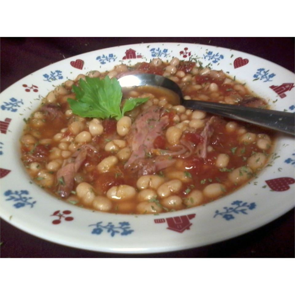 Slow Cooker Calico Bean Soup