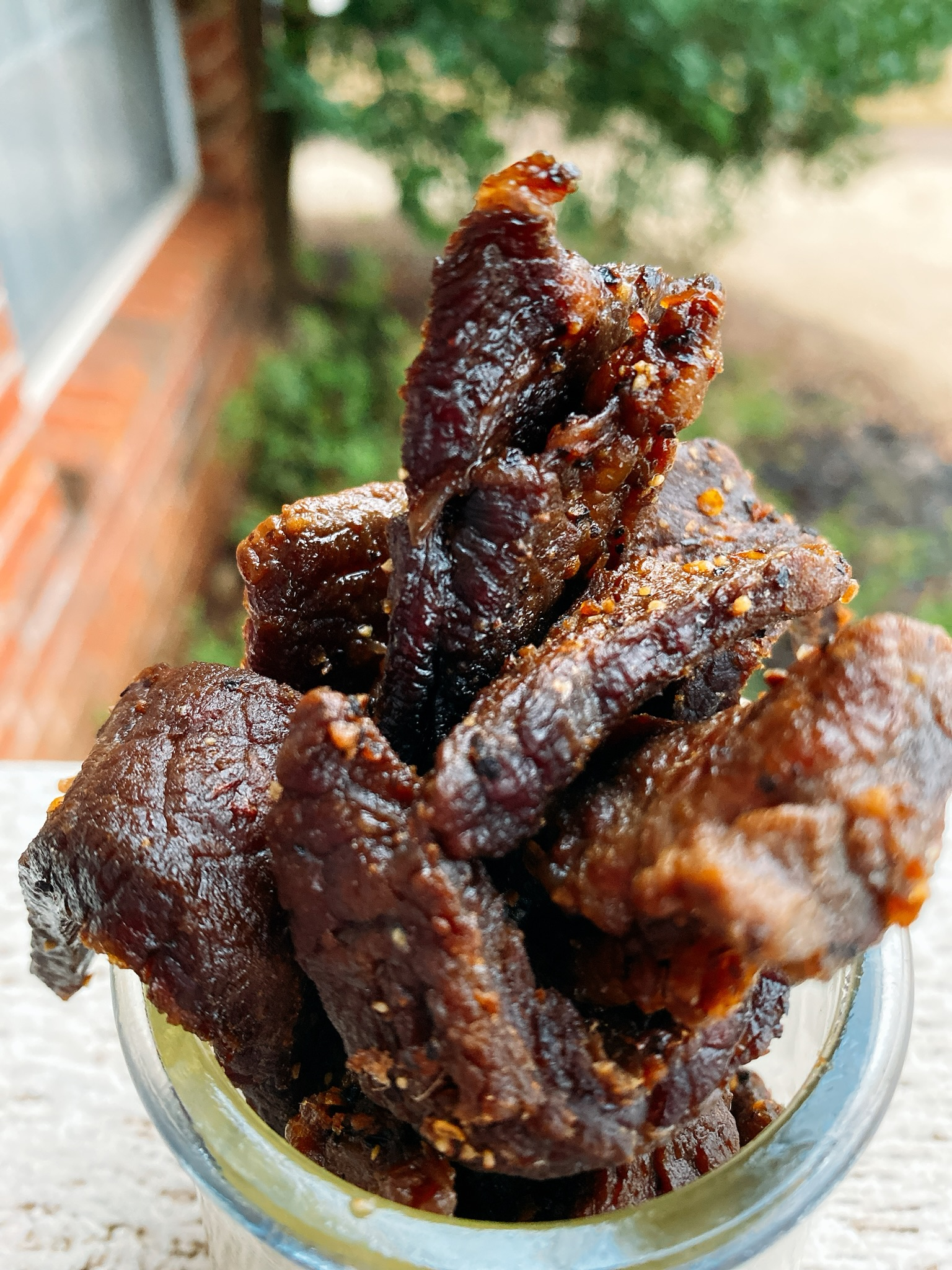 Air Fryer Steak Jerky