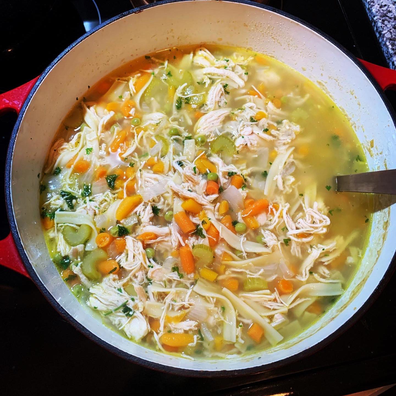 Lemon Ginger Chicken Noodle Soup Jnburton