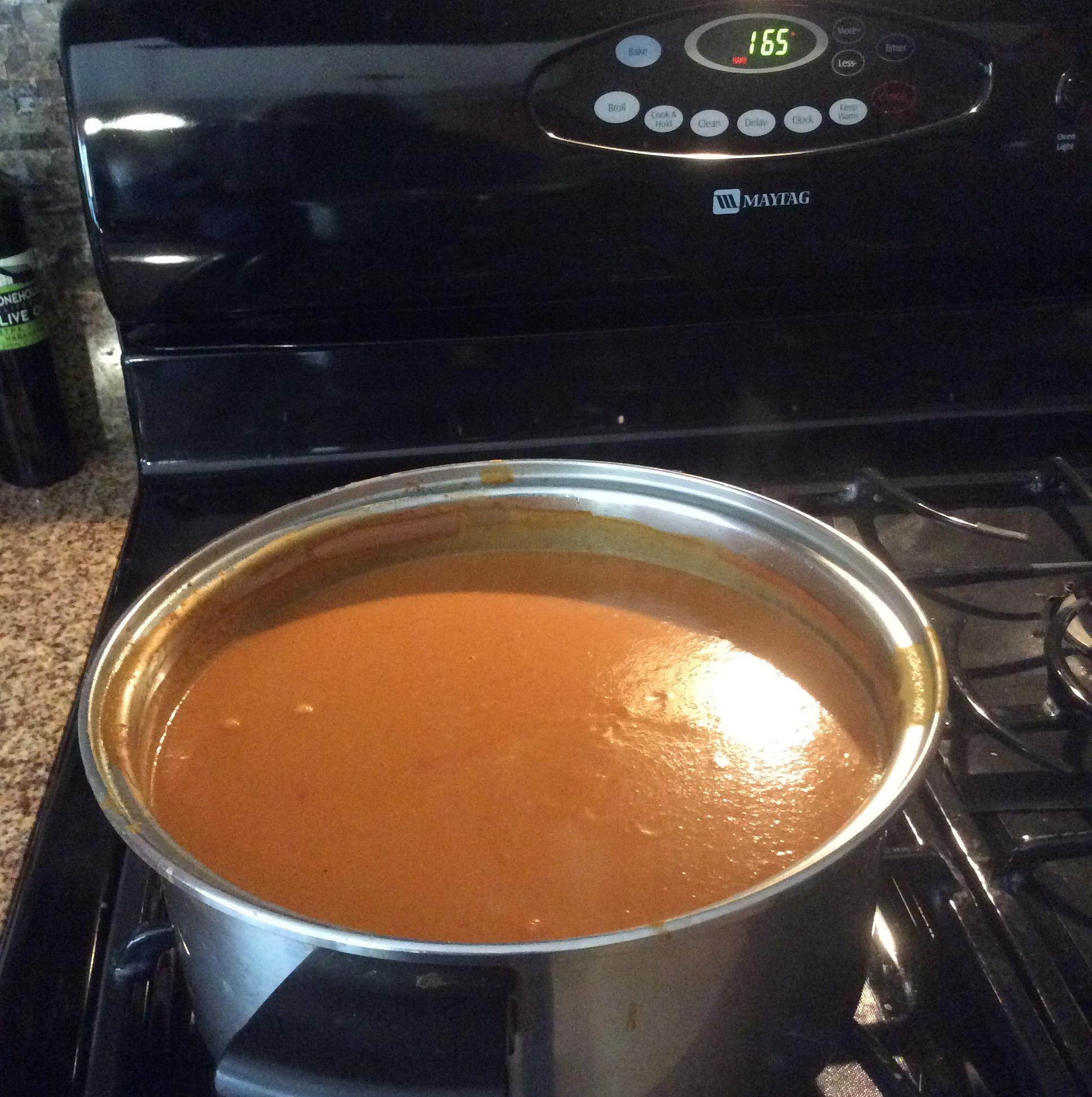 Garden-Fresh Tomato Soup Kathy Carvalho