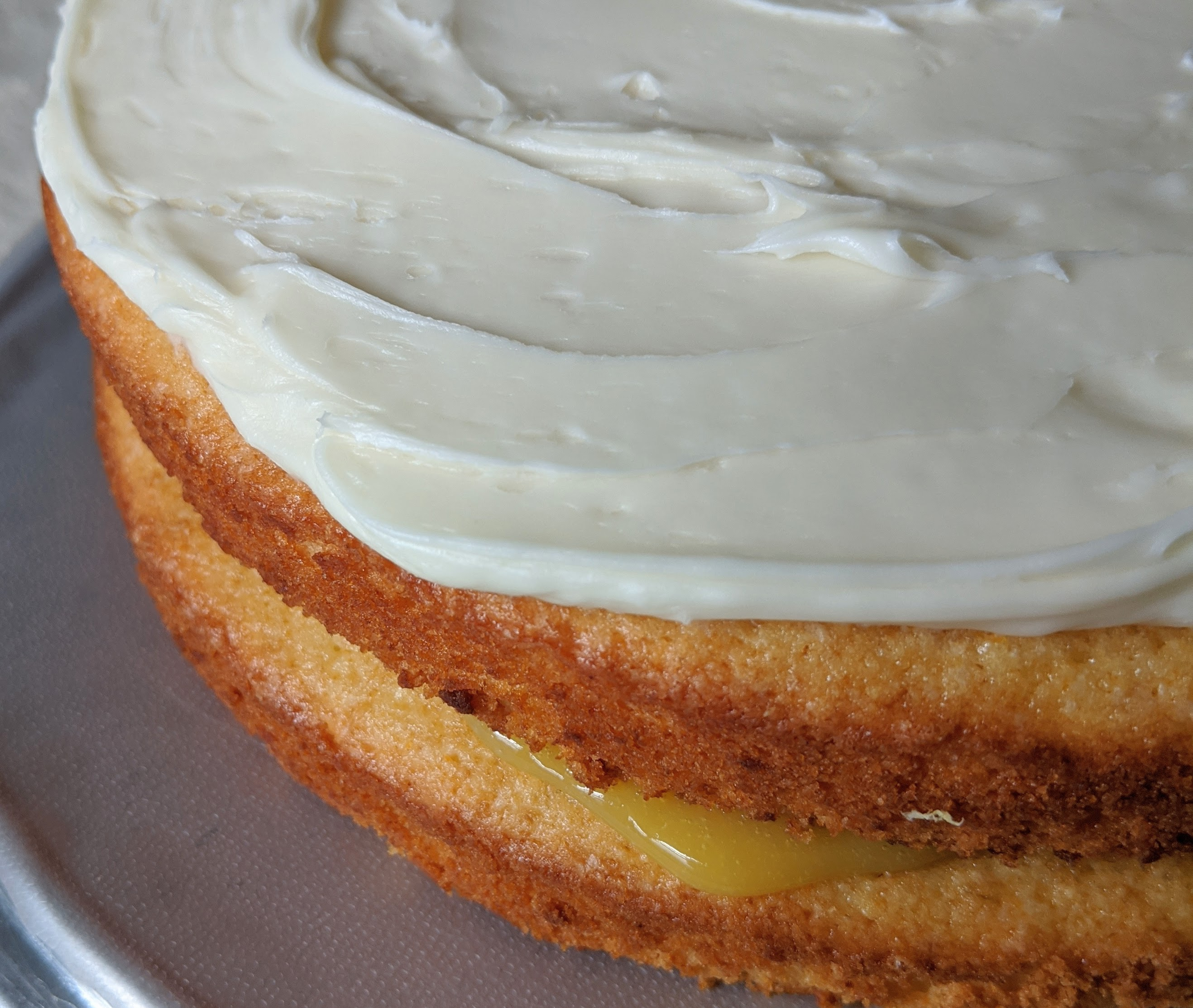 Whole Lemon Layer Cake