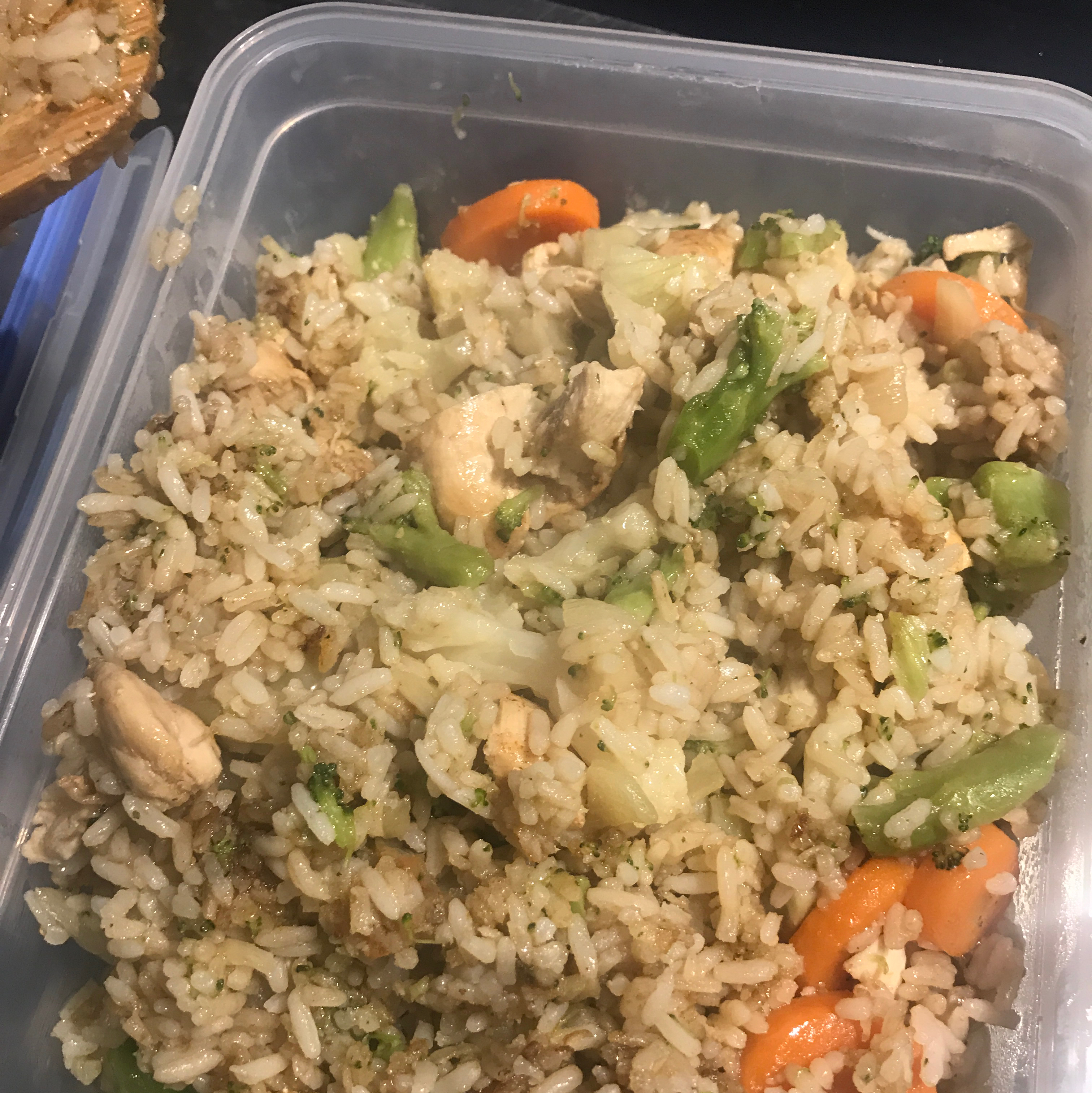 Veggie-Packed Chicken Fried Rice Mary Monaco
