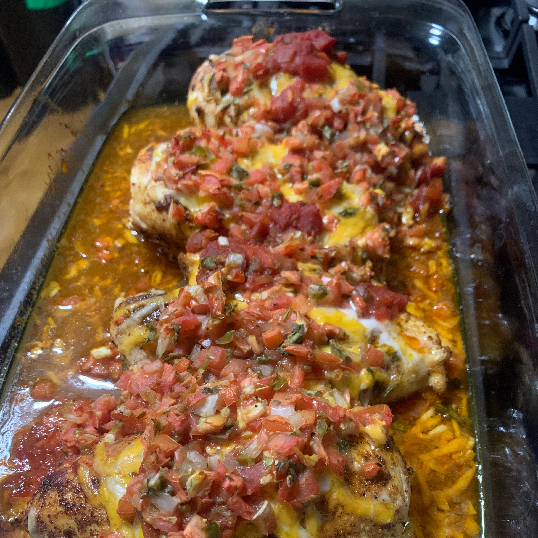 Healthy Mexican Chicken Bake