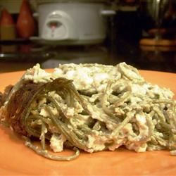 Spinach Noodle Casserole