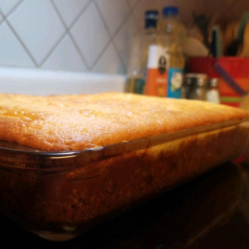 Firehouse Chili and Cornbread Casserole