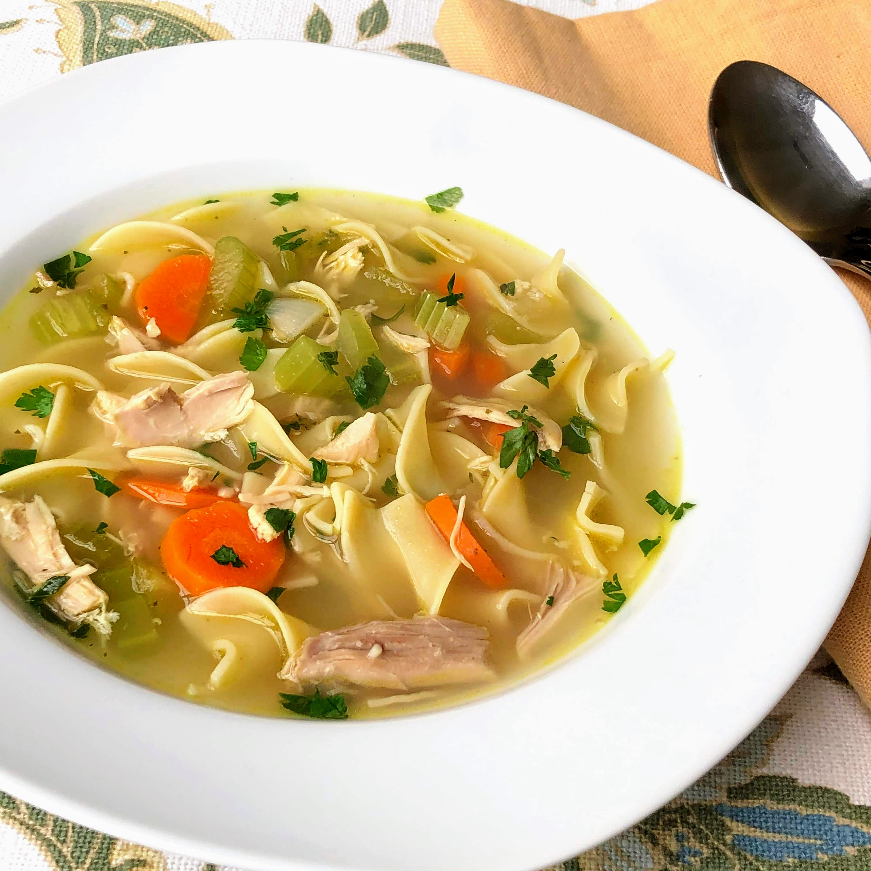Chicken Noodle Soup With Egg Noodles Recipe Allrecipes