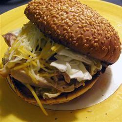 Jamaican Turkey Sandwich