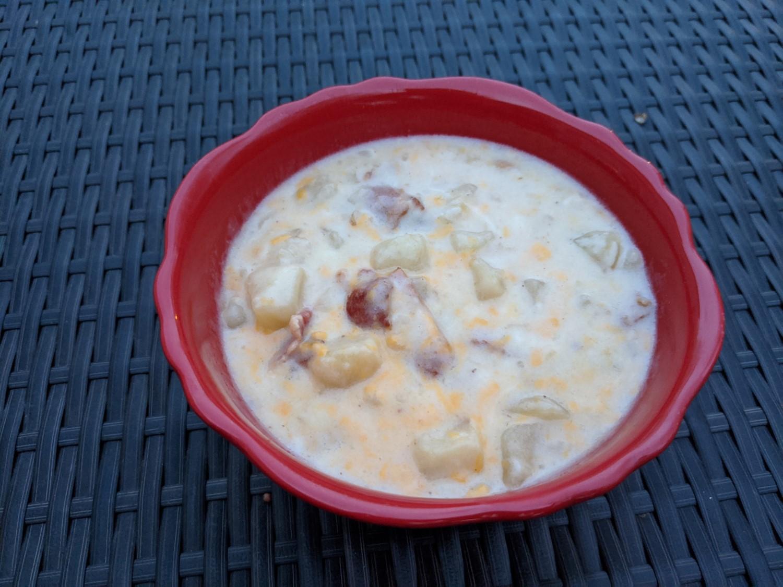 Slow Cooker Potato-Bacon Soup Rebekah Rose Hills