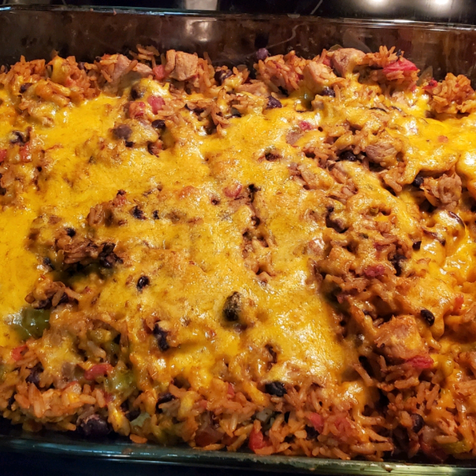 Pork and Green Chile Casserole Taylor Spencer