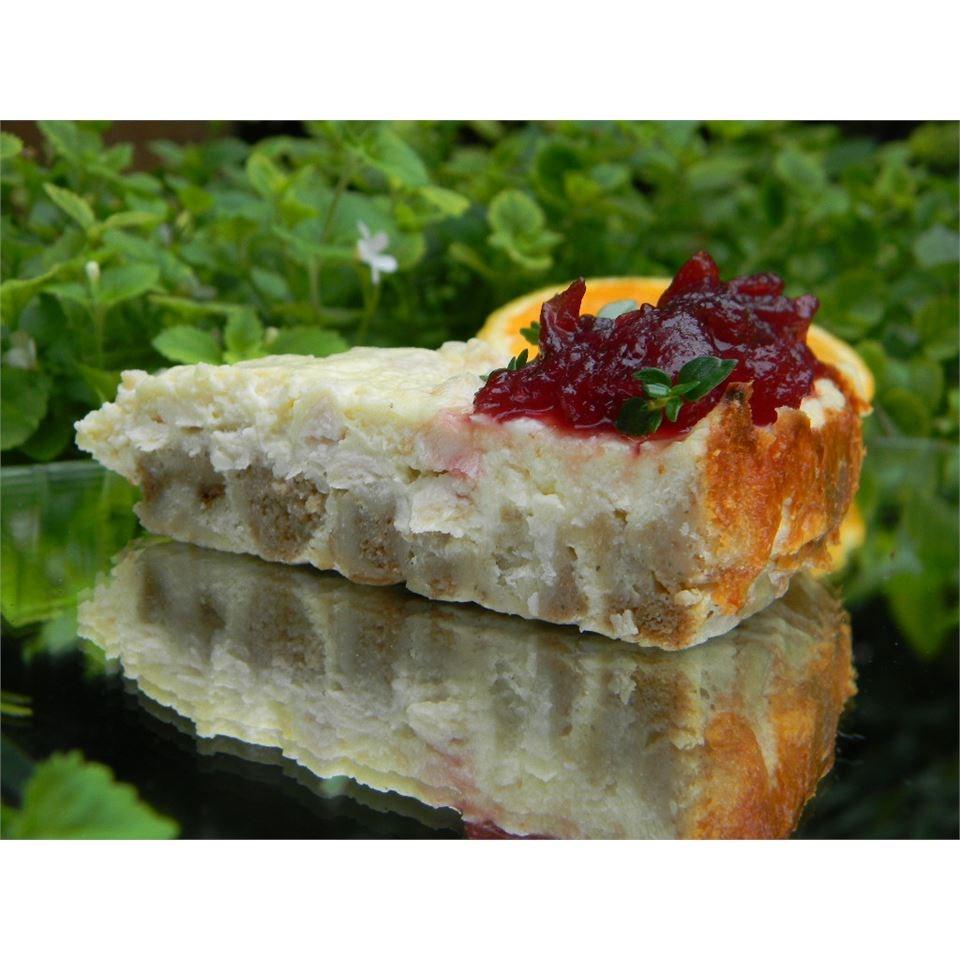 Leftover Turkey Cheesecake