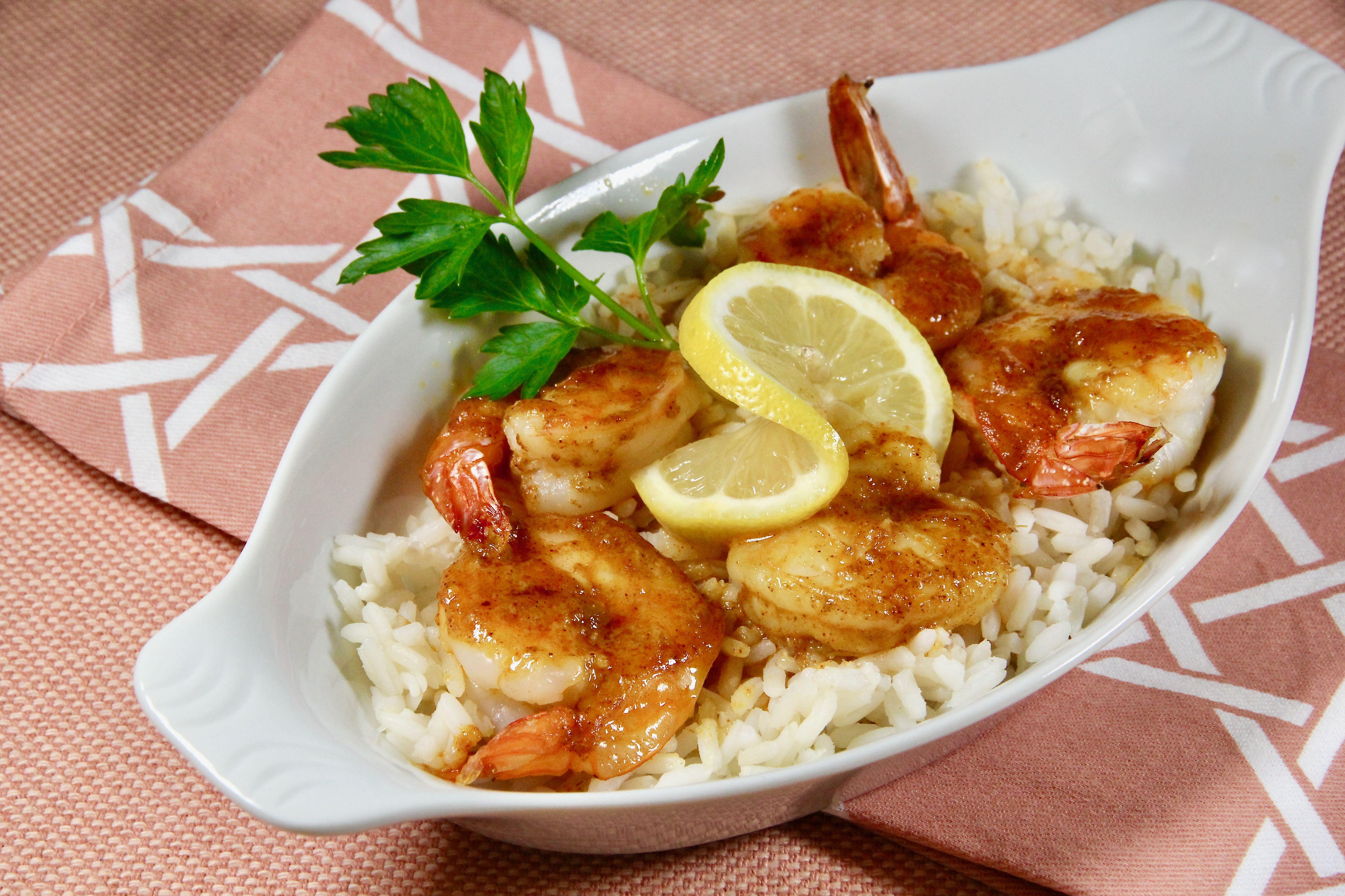 Curried Baked Shrimp