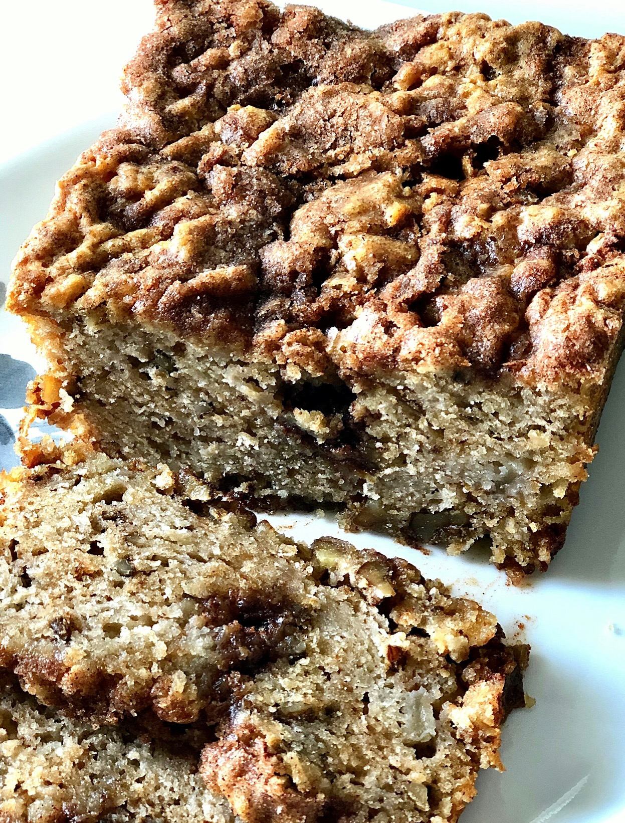 Apple Bread with Double Streusel Yoly