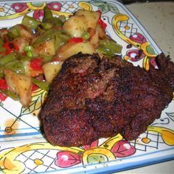 Chicken Fried Venison Steaks cartes