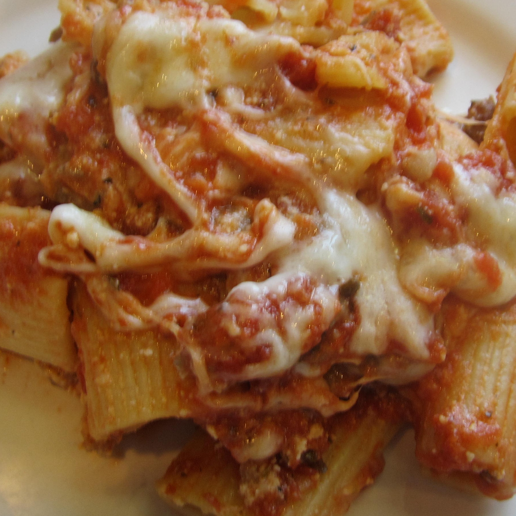Best Ziti Ever with Sausage