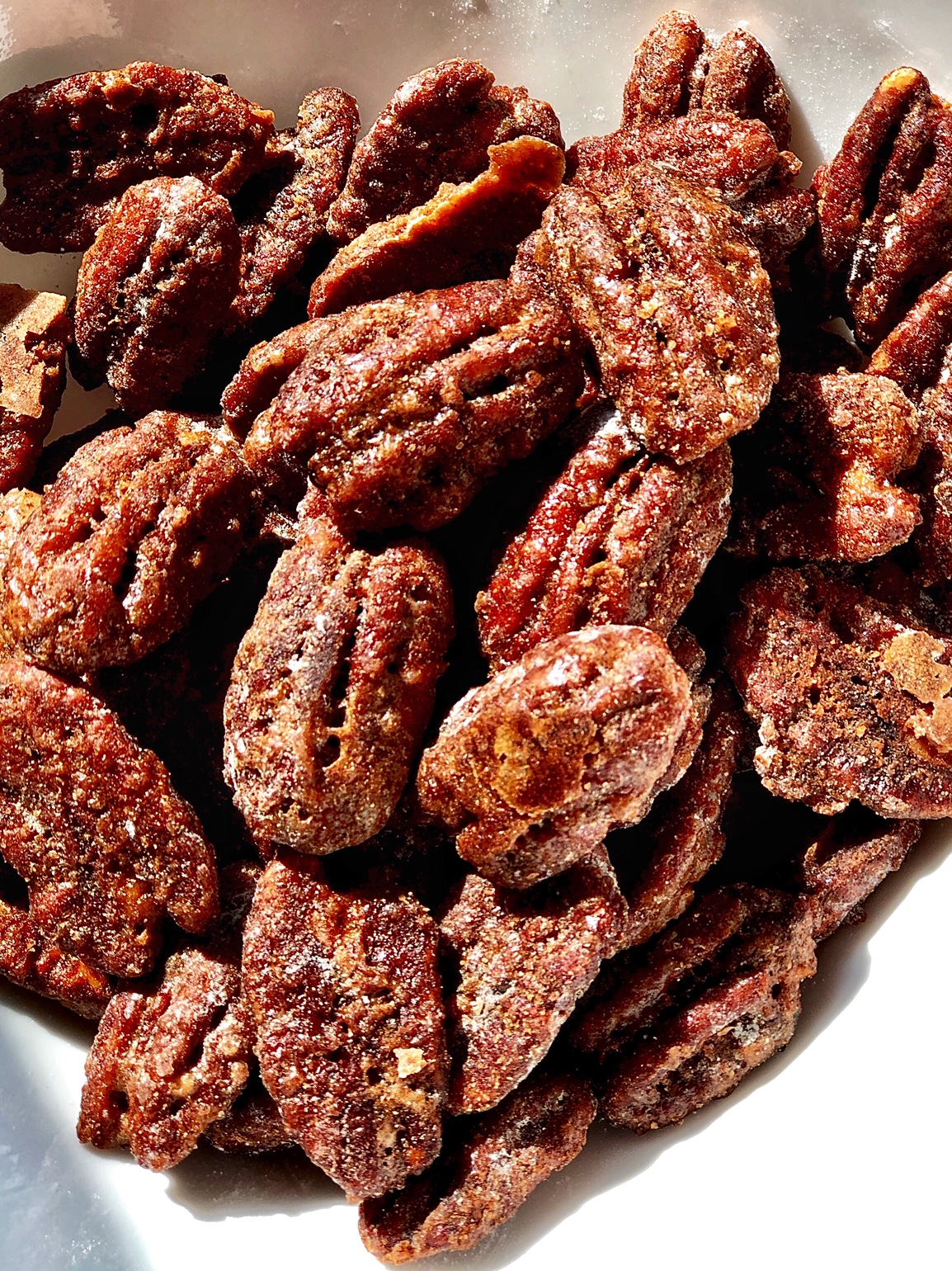 Keto-Friendly  Candied  Nuts