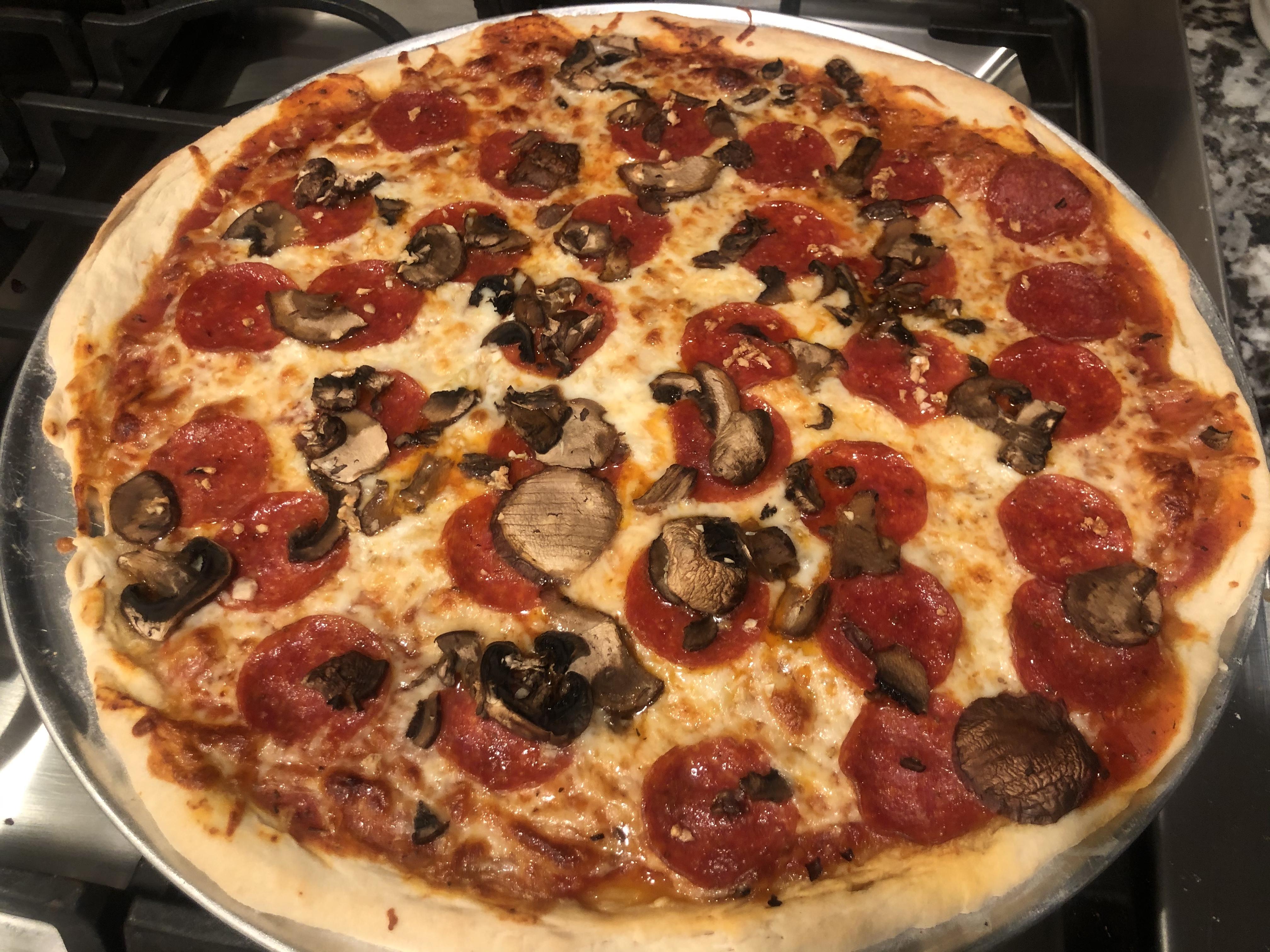 New York Style Pizza Yusef Hussainy