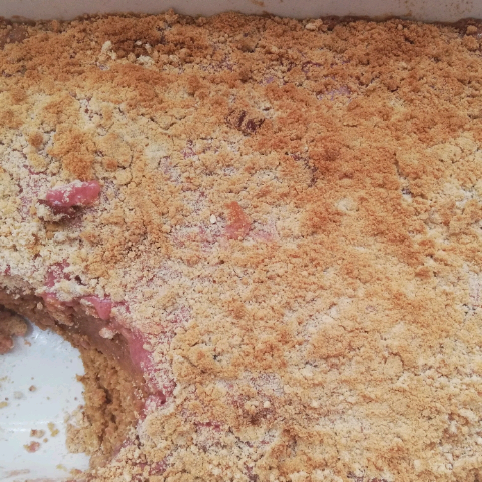 Strawberry Rhubarb Coffee Cake Mr. & Mrs. Kilgo