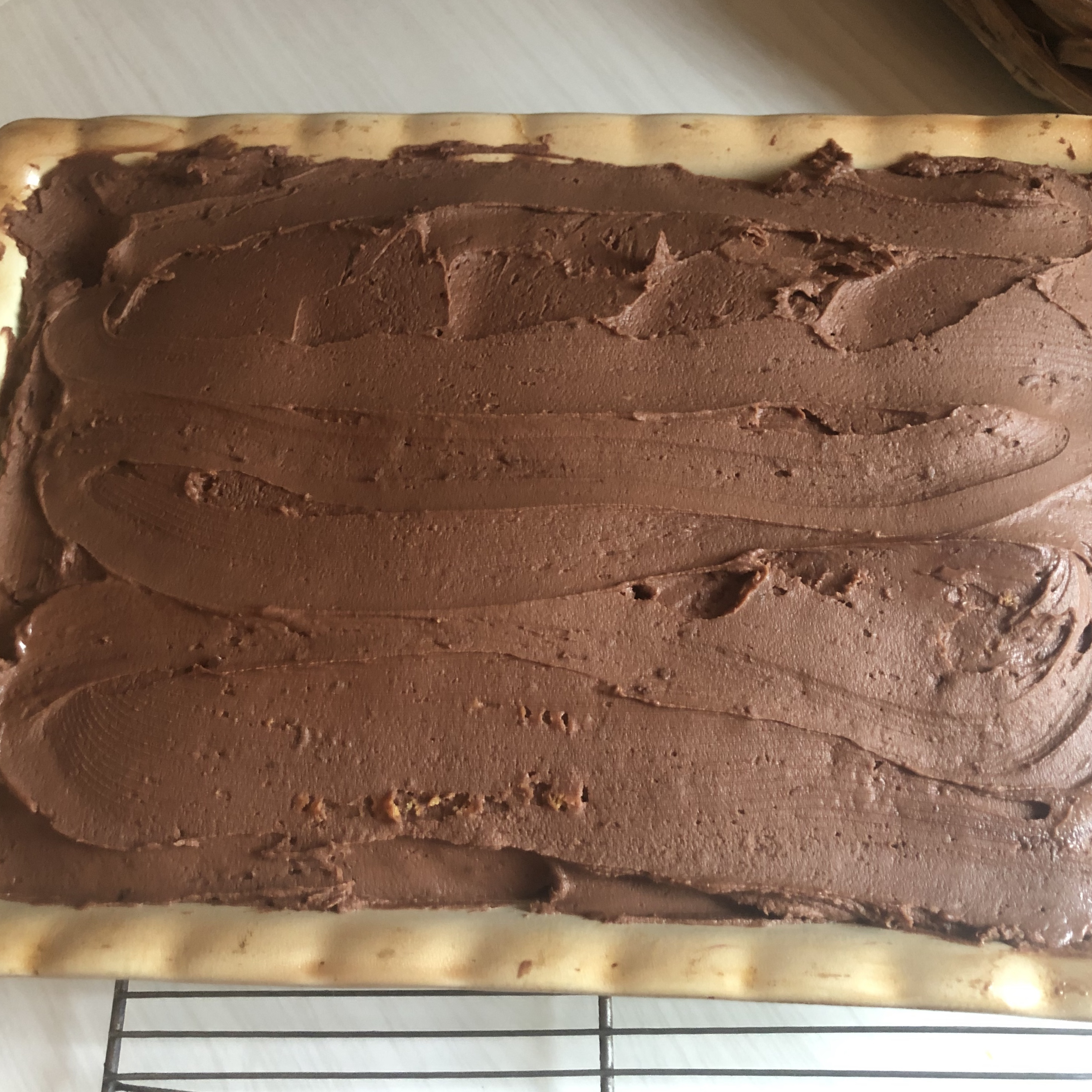 Sour Cream Chocolate Frosting