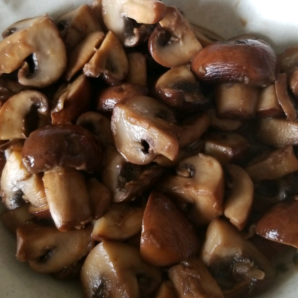 Mushrooms with a Soy Sauce Glaze