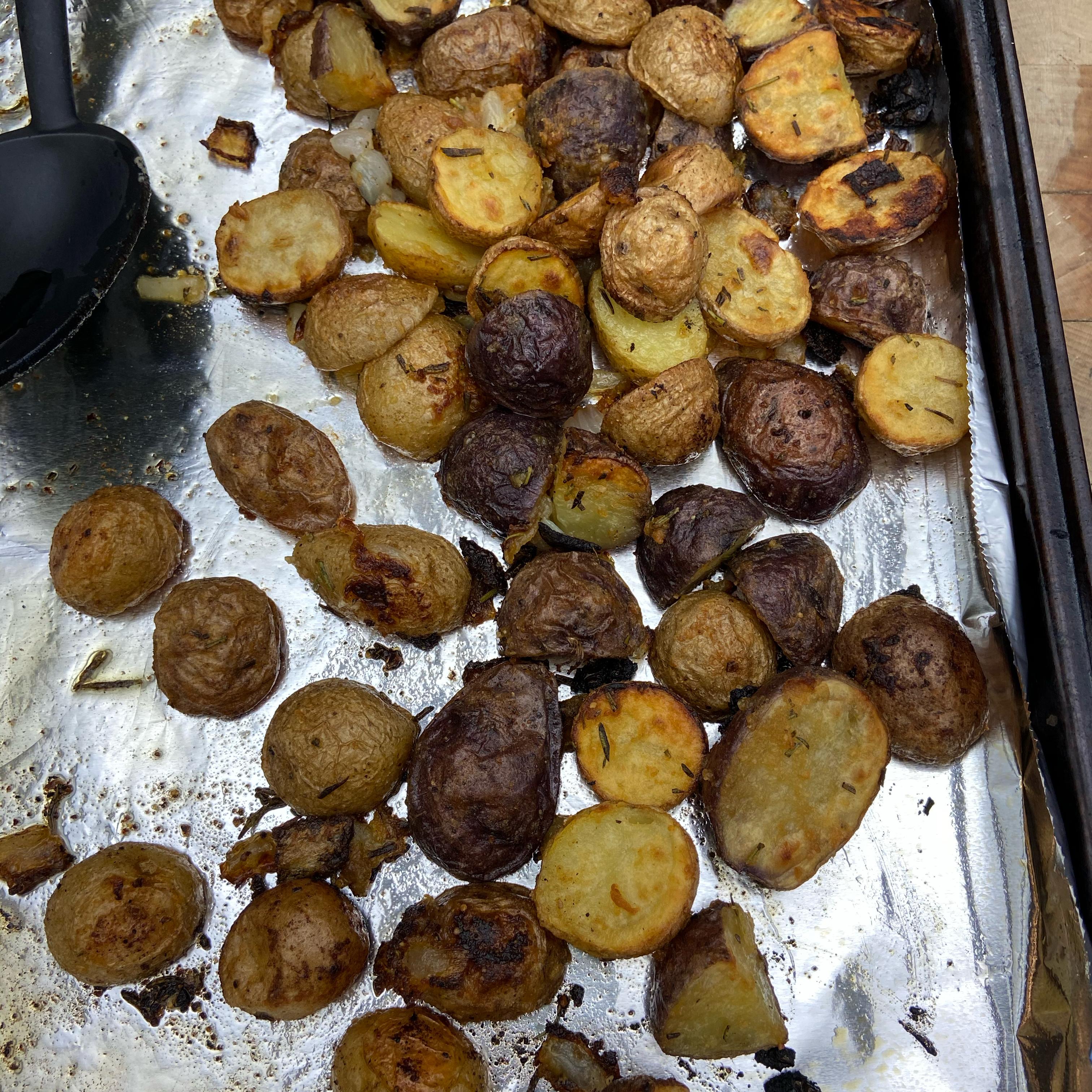 Roasted Parmesan Rosemary Potatoes Melissa Bullock-Bianco