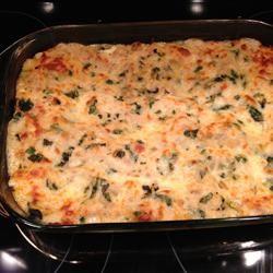 White Cheese Chicken Lasagna siri-3siri