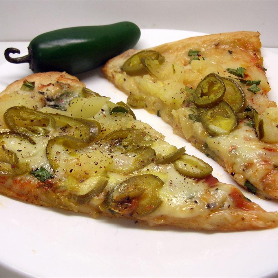 Pineapple Jalapeno Pizza