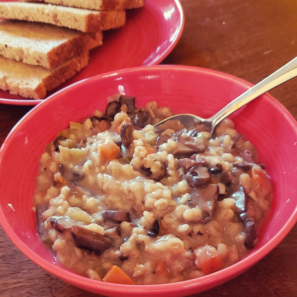 Beef Mushroom Barley Soup Quincy Fonseca