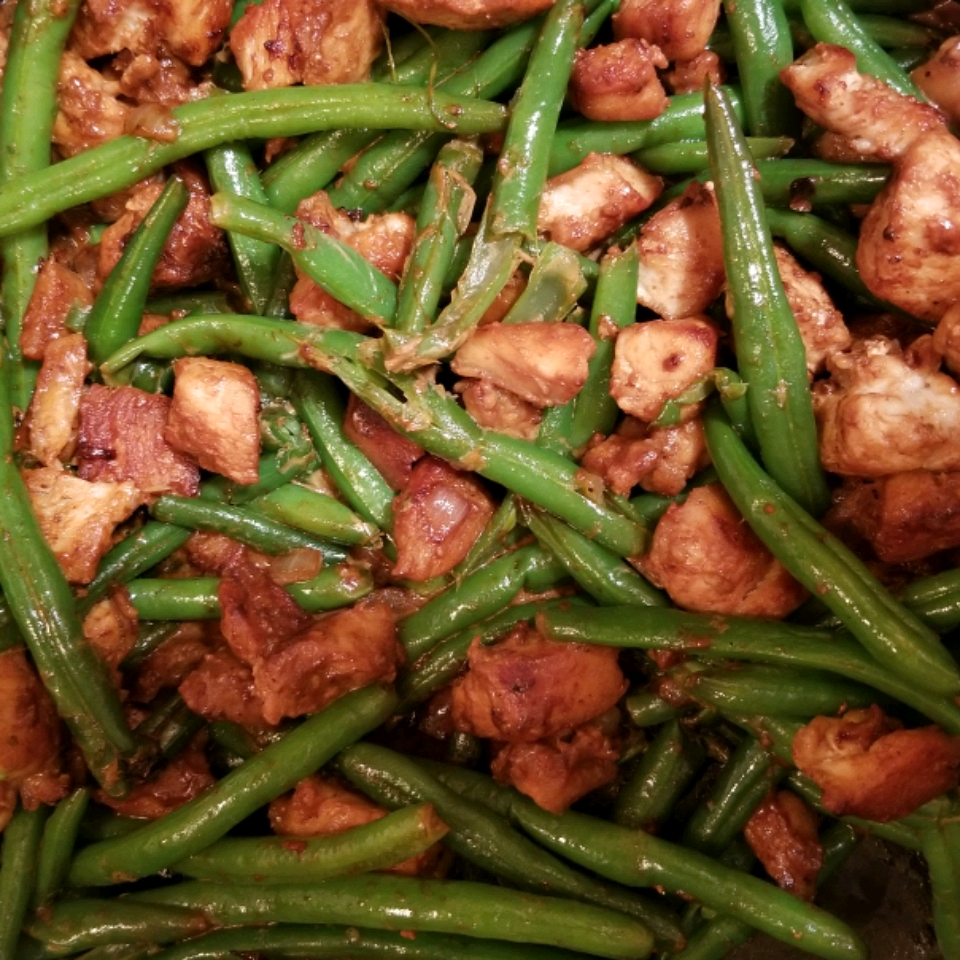 Divine Chicken with Green Beans